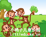 儿童英语故事The monkeys and the Moon