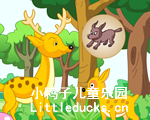 儿童英语故事Litter Deer and His Father