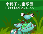 儿童英语故事The little green worms dream