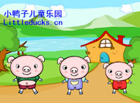 英文儿歌Three Little Pigs flash免费下载